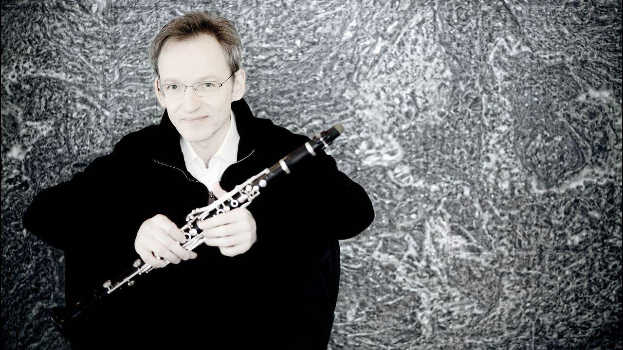 El reconocido clarinetista finlandés Kari Kriikku