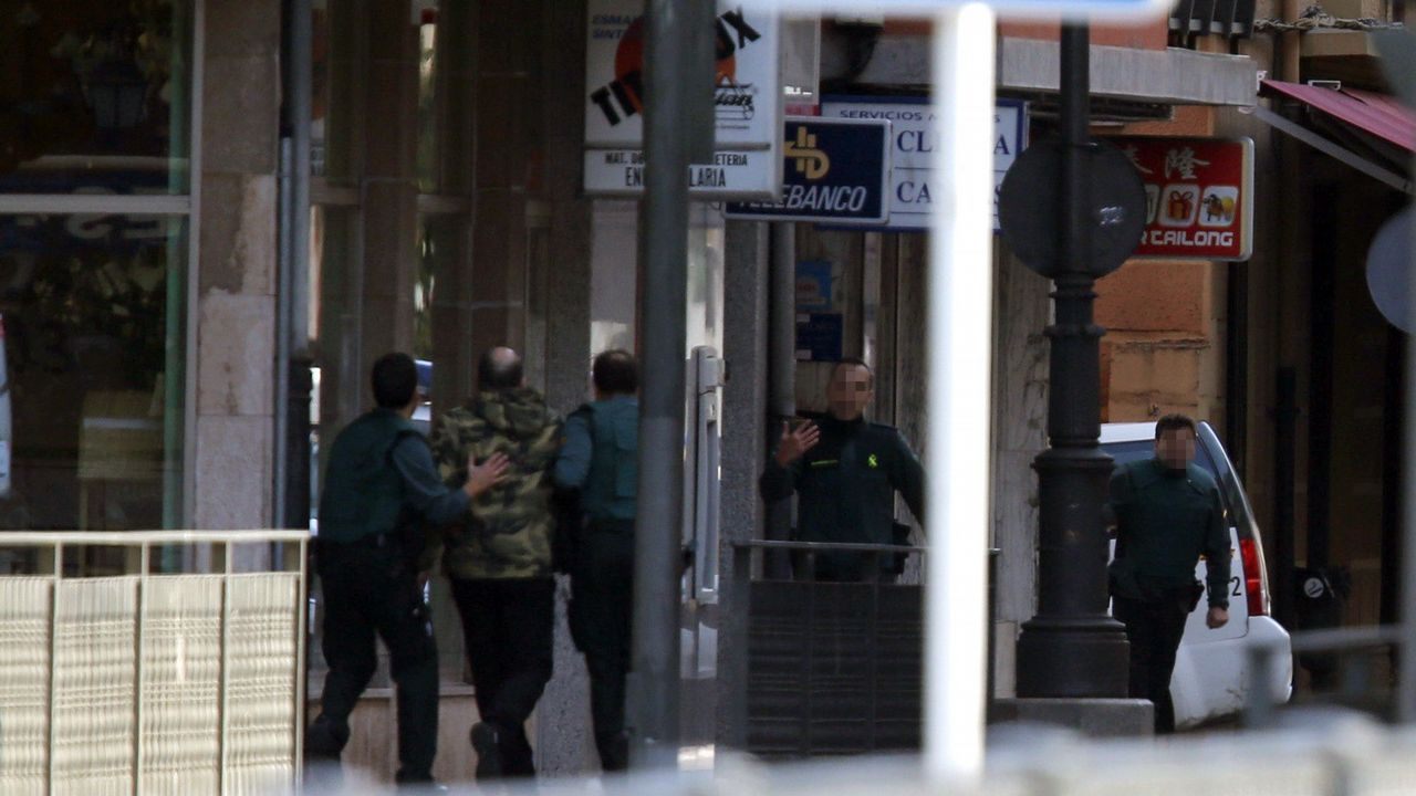 Pasa a disposición judicial el atracador del banco de Cangas de Onís.Ángel Antonio del Valle, presidente de Duro Felguera
