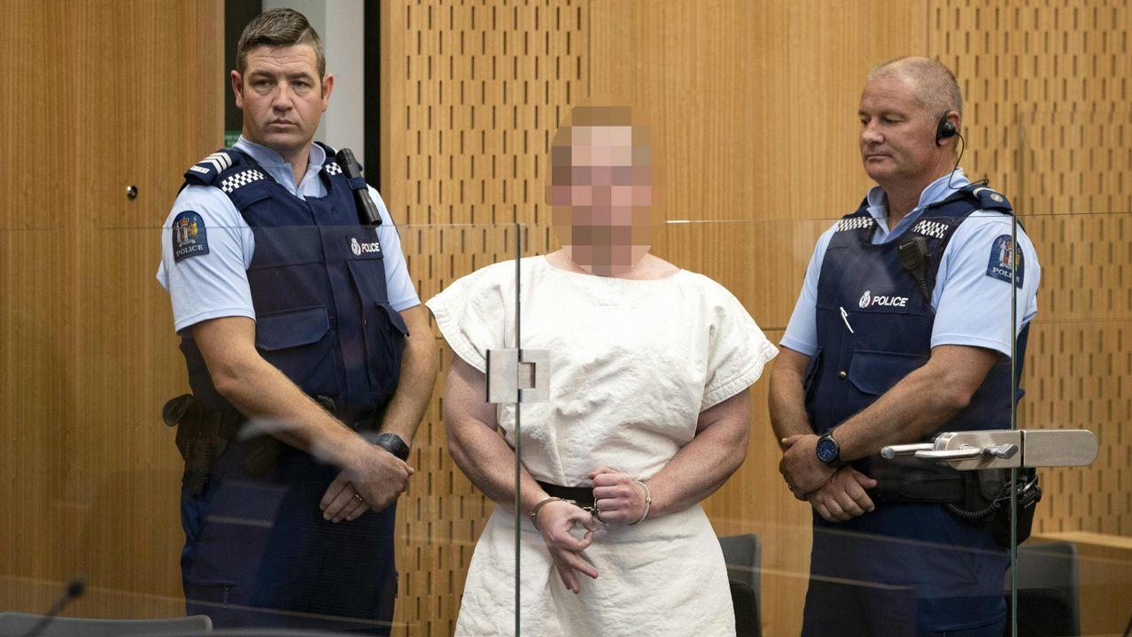 Acusan oficialmente de asesinato a uno de los neonazis que perpetró la masacre de Nueva Zelanda
