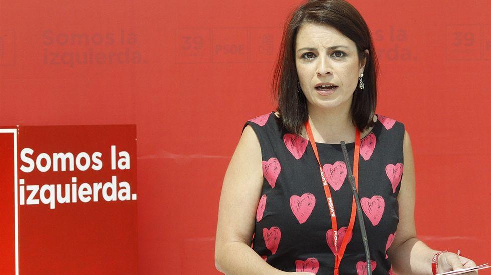 Barcelona acoge una gran marcha unionista.Adriana Lastra