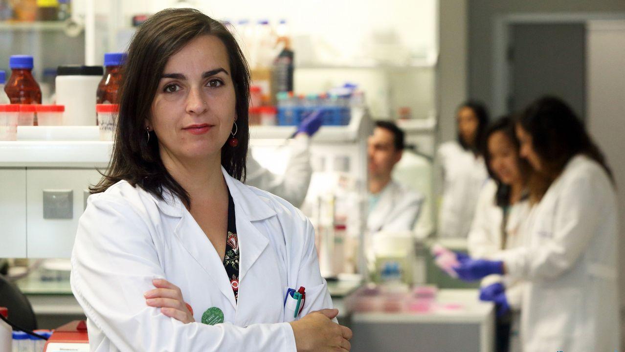 Combo ciencia brexit.La nueva presidenta de los científicos españoles en la entrega de un premio