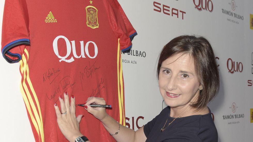 Carmen Martínez, investigadora asturiana de la Selección Española de Ciencia 2016.