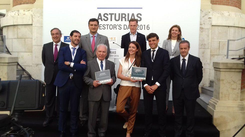 La clausura del «Asturias Investor's Day 2016»