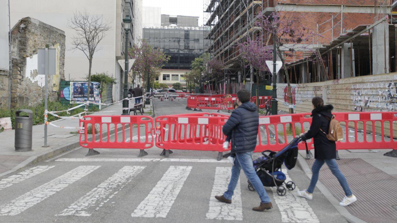 Ascensor público en Pamplona
