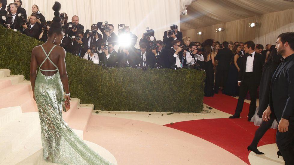 La actriz Lupita Nyong'o.