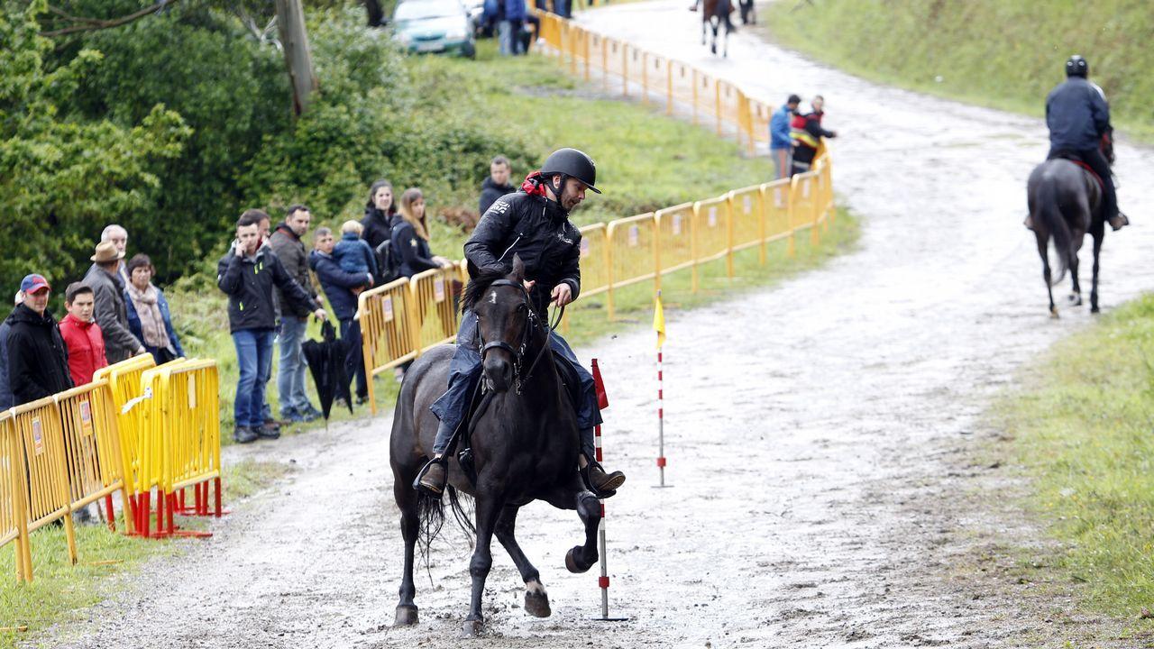 Duelo a caballo entre Lara Méndez y Ramón Carballo