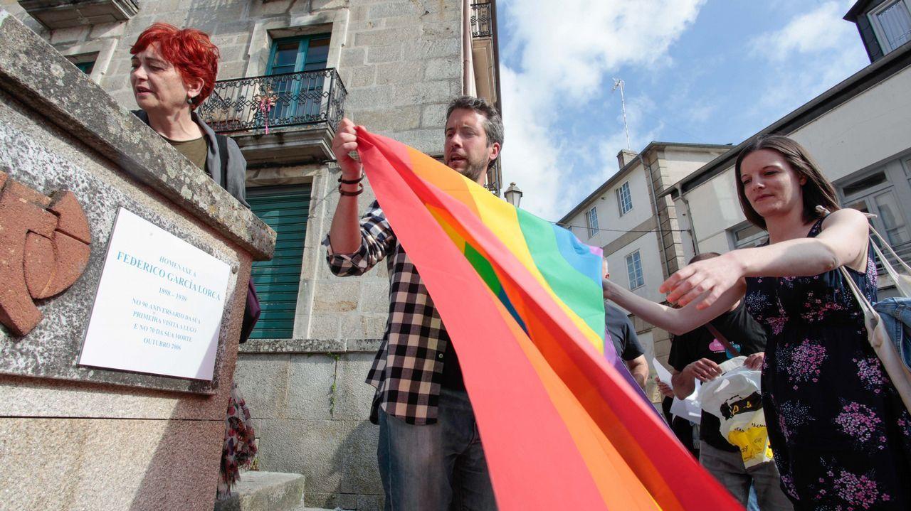 Visibilización en Lugo del movimiento LGTBIQA+