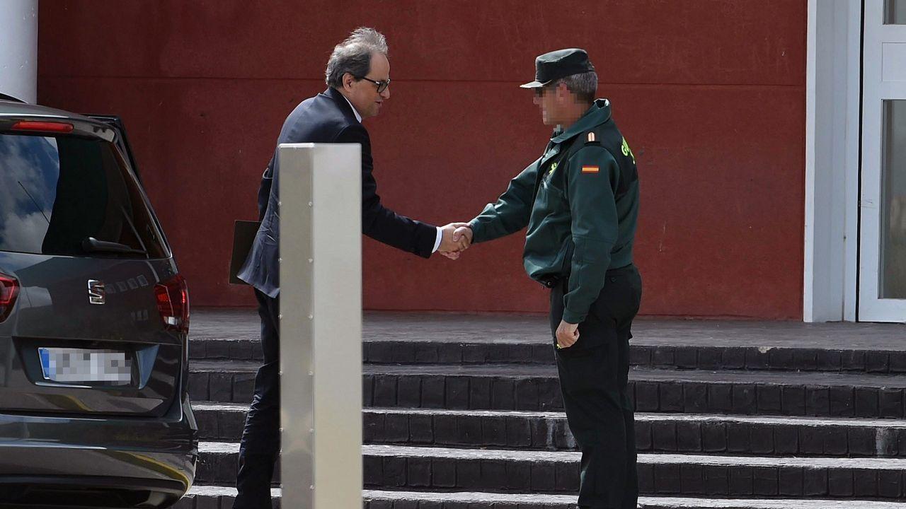 Torra y Puigdemont avisan a Sánchez de que se acaba su «periodo de gracia».Trapero, en una imagen de archivo