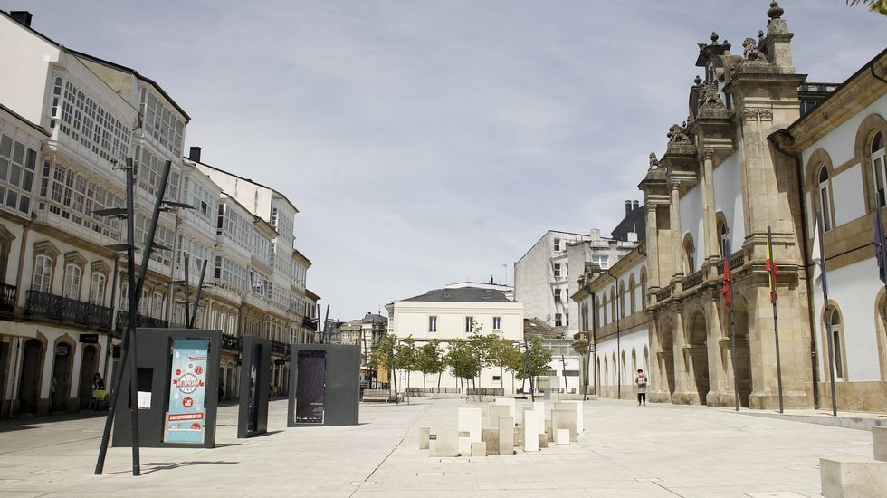 Europa ha modificado el centro de Lugo en solo una década.
