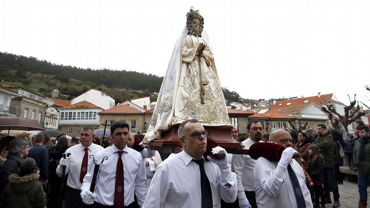 Barbanza afronta la recta final de la Semana Santa.