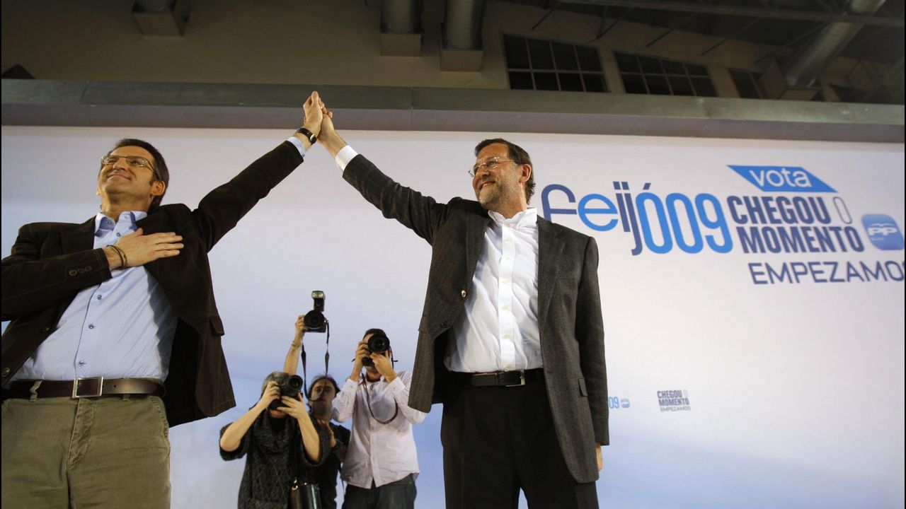 A las elecciones del 2009, Feijoo se presentó con el objetivo de reconquistar las Xunta para los populares.
