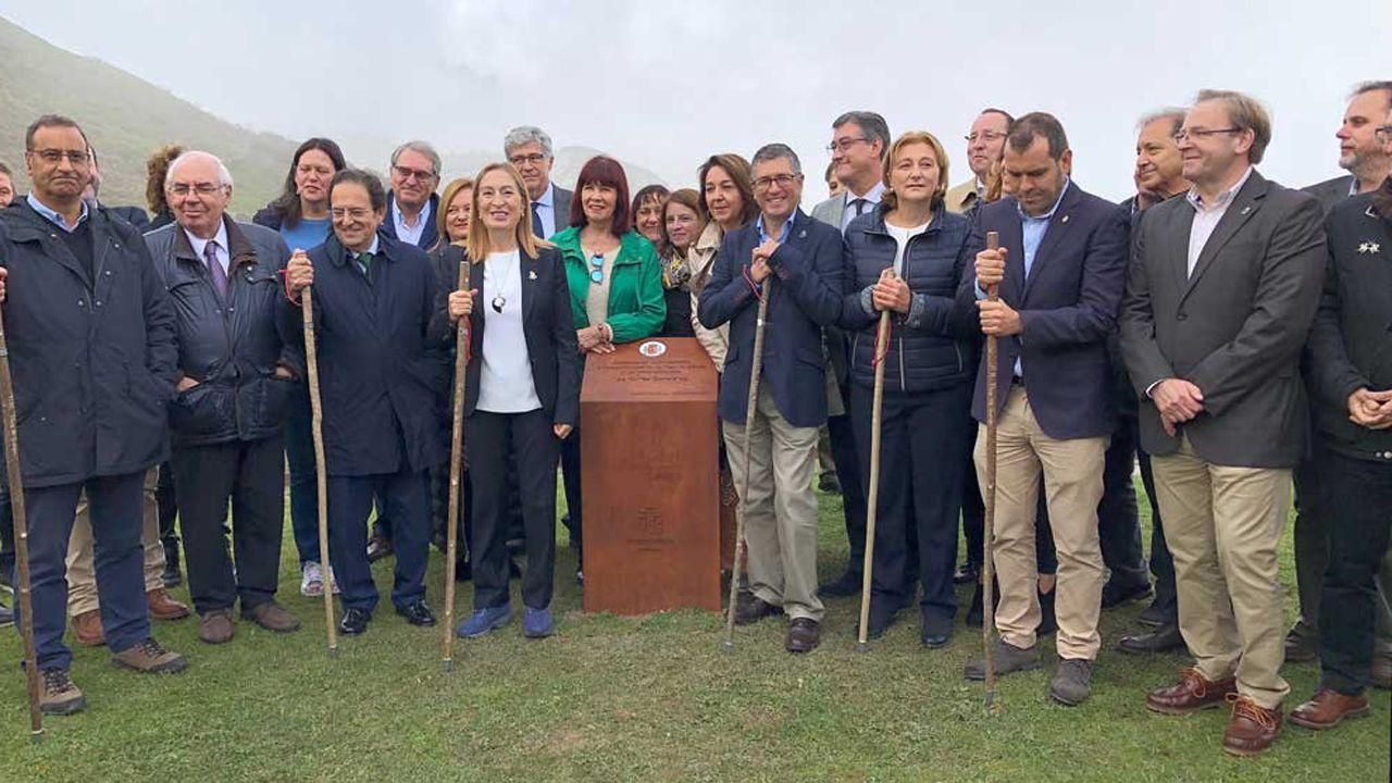 Ana Pastor ha presidido los actos de comemoración del centenario de Picos de Europa