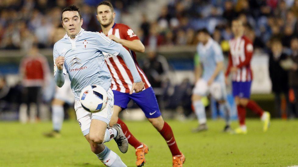 Celta - Atlético de Madrid, en imágenes