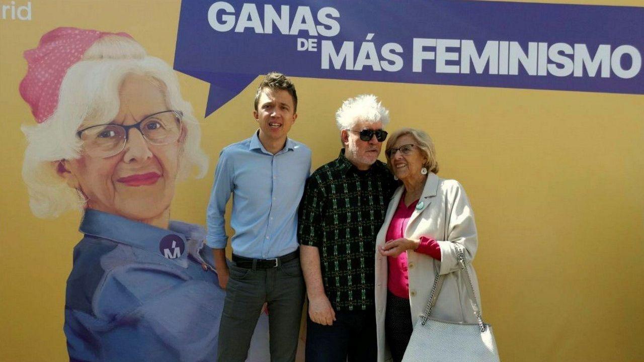 Pablo Iglesias con José María González, «Kichi», alcalde de Cádiz, en una imagen de archivo