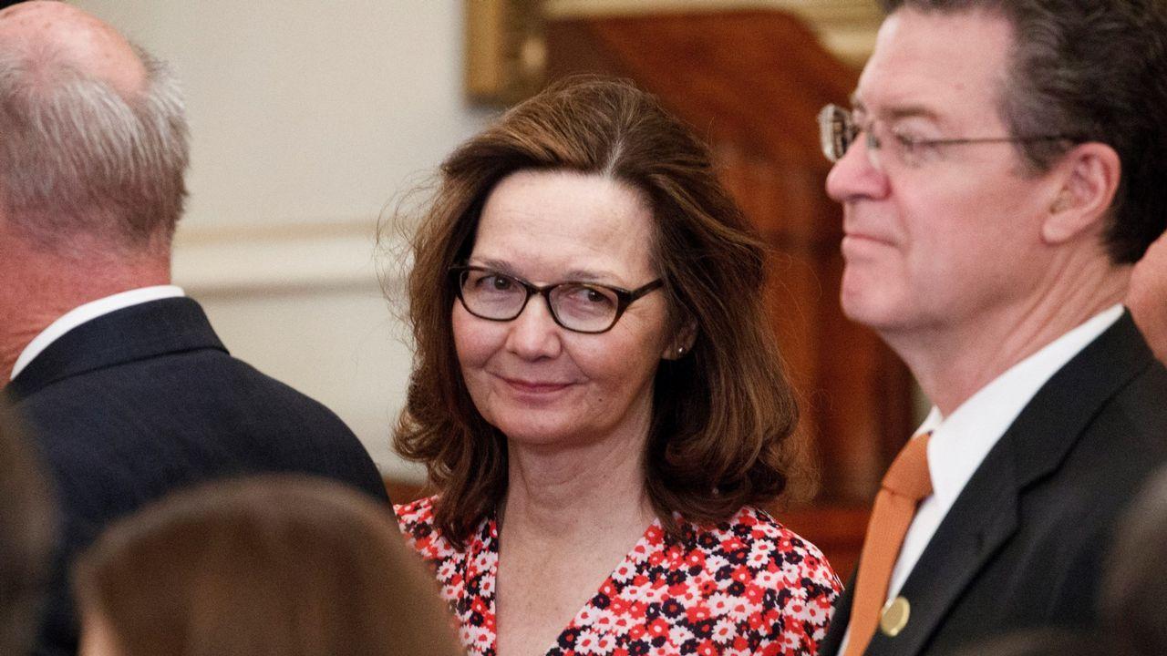 .Gina Haspel, en una imagen del 2 de mayo