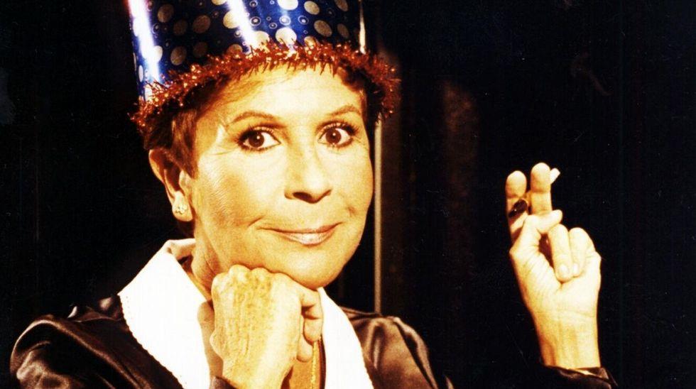 Un detalle del cartel de la película «Señora doctor» utilizado en una octavilla sindical de la Policía Local contra Carmen Moriyón