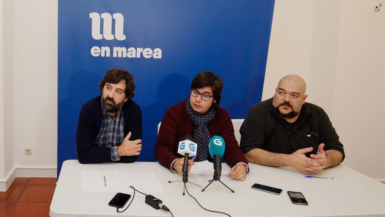 «Non hai sospeitas, non dubidamos de ningún compañeiro».Gonzalo Rodríguez, responsable del censo de En Marea