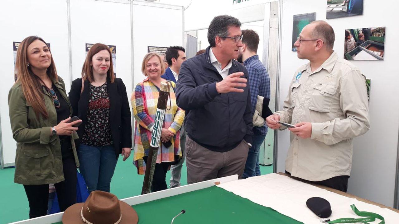 Ignacio Prendes en la inauguración de la XXI Feria del Salmón Asturpesca-Capenastur 2019