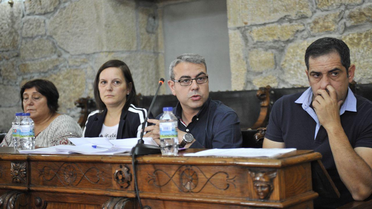 Xulio Ferreiro: «Os problemas se montan cando un quere facer algo diferente do feito até agora».Plaza del Ayuntamiento de Oviedo