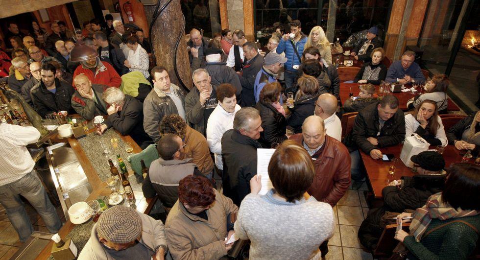 Ocho destinos turísticos en Galicia.El restaurante Area Grande participa en «Menús Arte_Sáns».