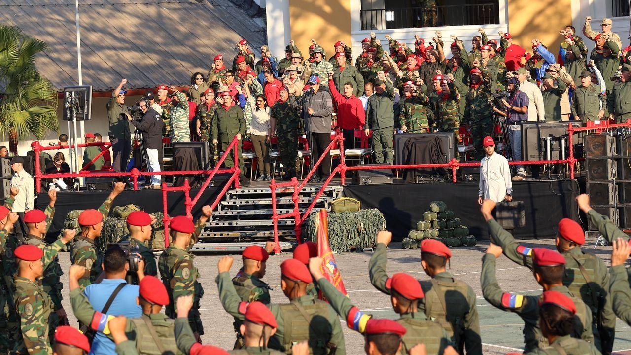 Josy Fernández tiene una causa abierta por desacato en el Tribunal Supremo venezolano.Captura de la grabación en directo de la rueda de prensa de Nicolás Maduro en el palacio de Miraflores