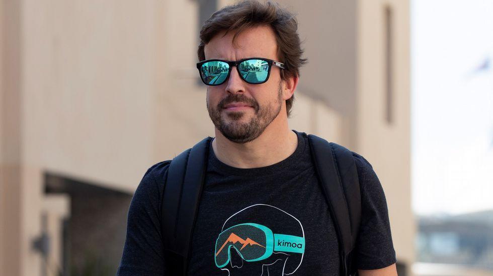 El coche más caro del mundo, en el salón de Ginebra.Fernando Alonso
