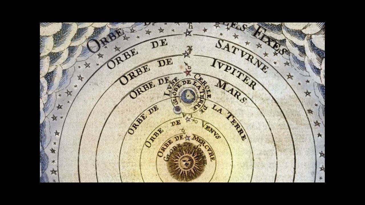 La PAH paraliza un desahucio en Oviedo.Ilustración del «Sistema del universo según Copérnico» (1719)