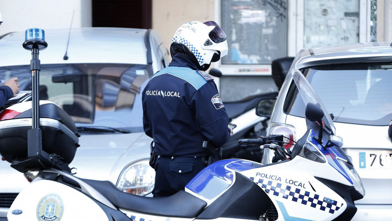 Oviedo por la iguadad.Policía Local Coruña