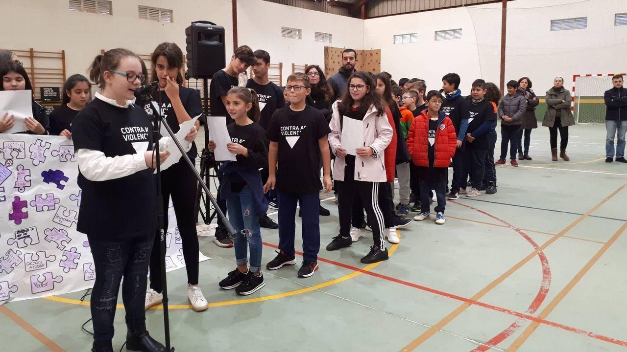 Actos por el 25N en Fisterra