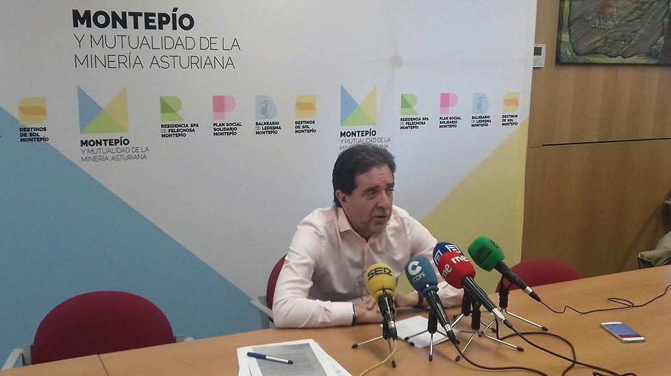 El presidente del Montepío, Juan José Pulgar.El presidente del Montepío, Juan José Pulgar