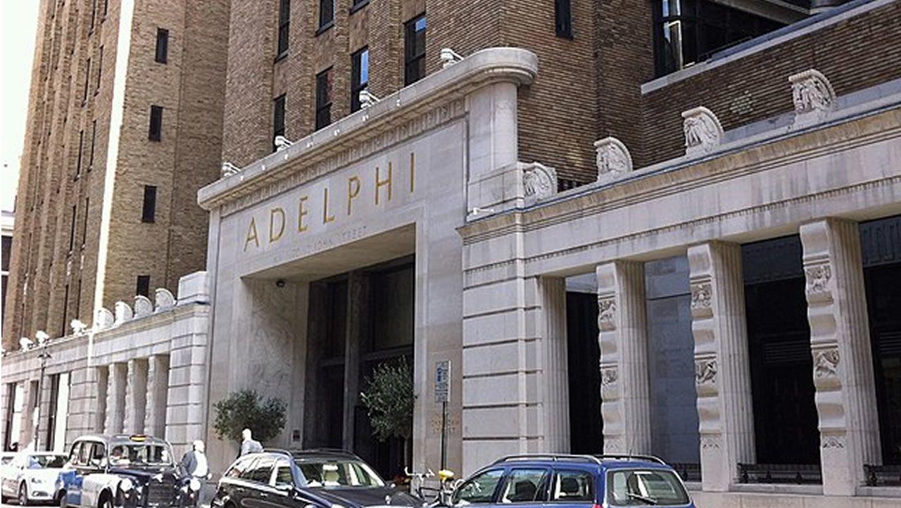 .Edificio Adelphi, en Londres