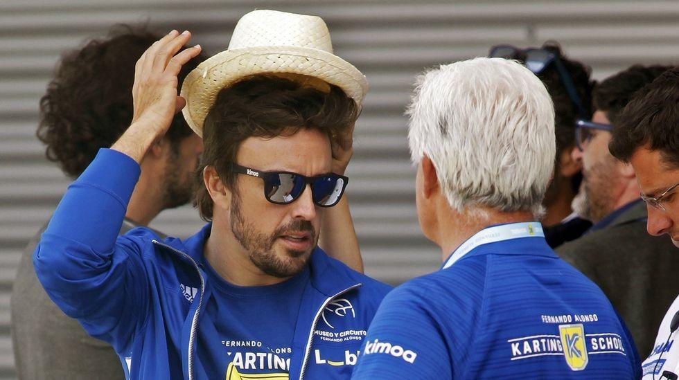 El asombroso doble adelantamiento de Fernando Alonso en Indianápolis