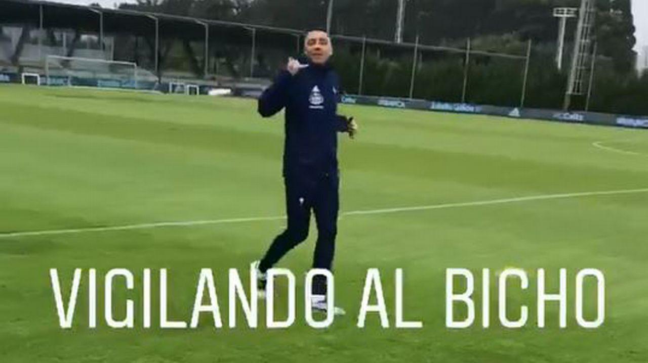 «Me gustaría llegar a ser el máximo goleador del Celta»