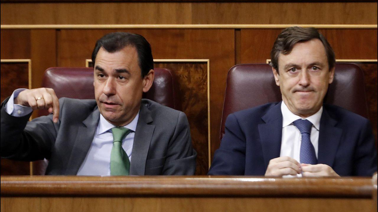 Maíllo y Hernando, en el Congreso