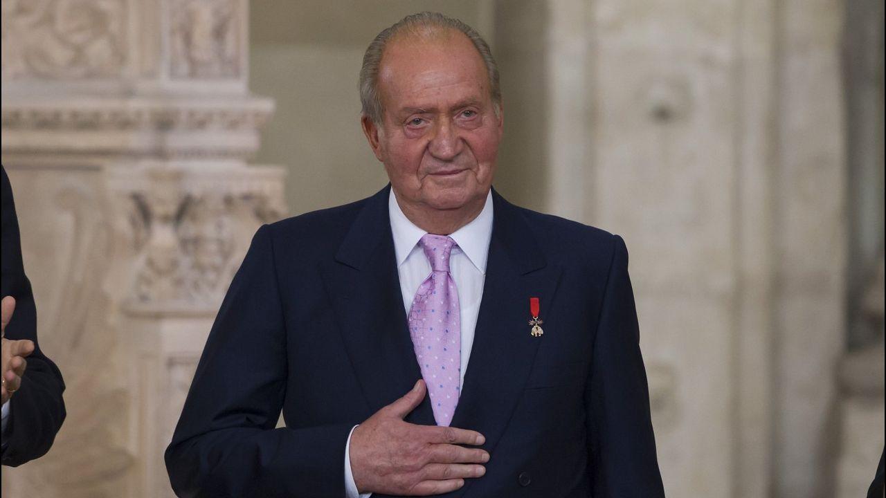 Así fue la graduación de Froilán.El Rey Felipe VI en el encuentro empresarial Reino Unido-España, Londres