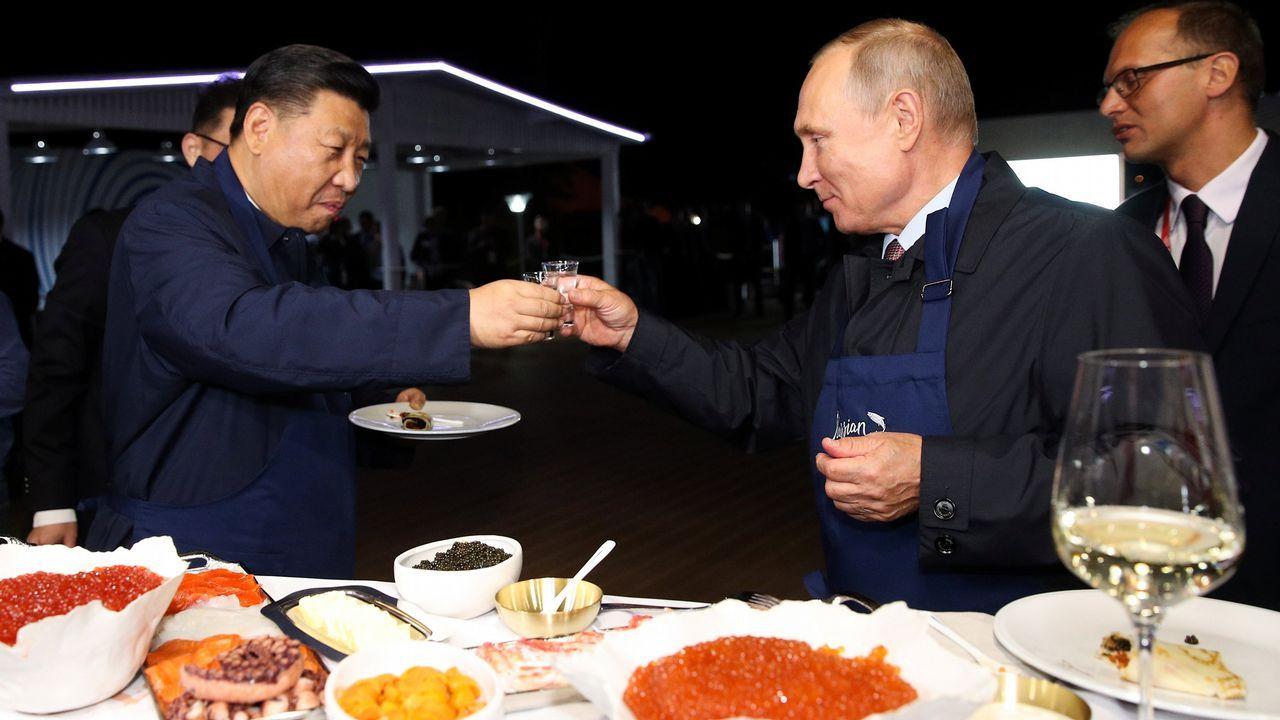 Octogenarios de película en Mi Casa.Nicolás Maduro con el presidente chino, Xi Jinping
