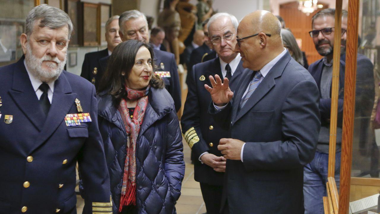 Armón Burela bota un catamarán de lujo.Los trabajadores de Vulcano en una protesta a finales de enero