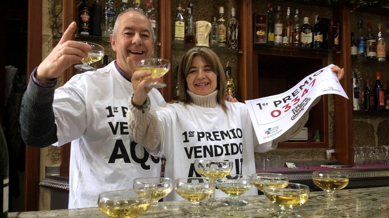El bar Cervantes de Ourense vendió dos décimos del gordo