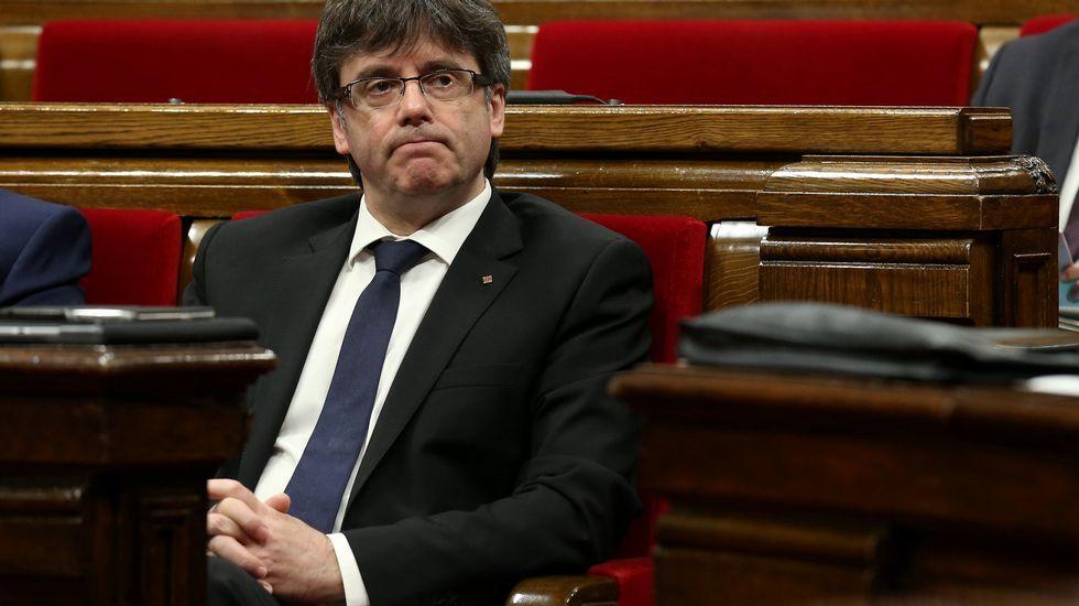 Tinín Areces emplaza al PSdeG a canalizar más las demandas de Galicia a través del Senado.Ramón Espinar, de Unidos Podemos