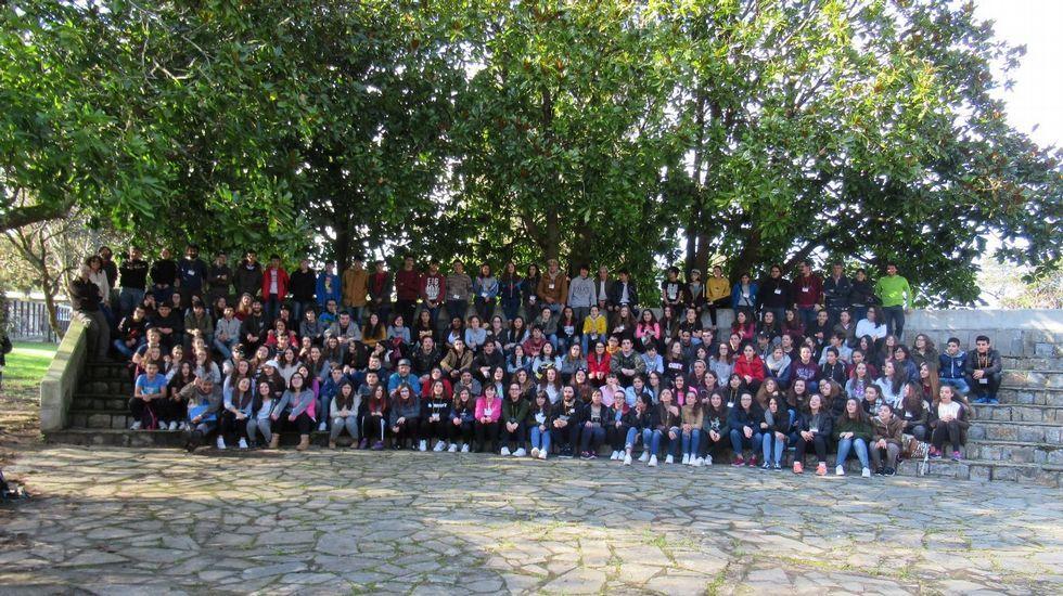 .Reunión de correspondentes xuvenís de toda Galicia