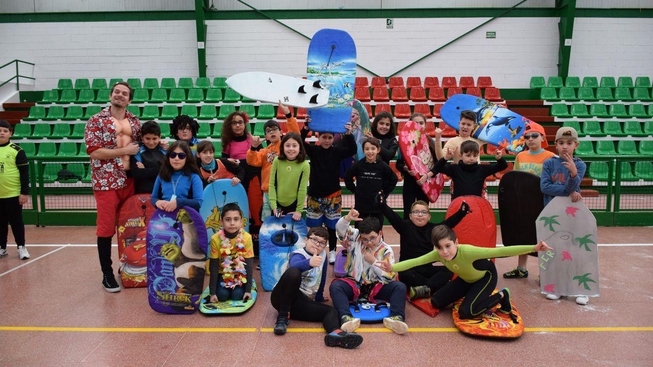 Carnaval del colegio Eugenio López (Cee)
