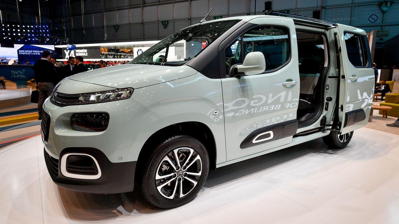 La nueva Citroën Berlingo debuta en el Salón de Ginebra.Imagen de archivo de votaciones sindicales en PSA