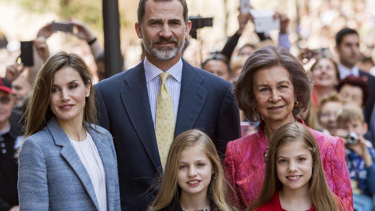 .Misa de Domingo de Resurrección en la Catedral de Mallorca en abril de 2016