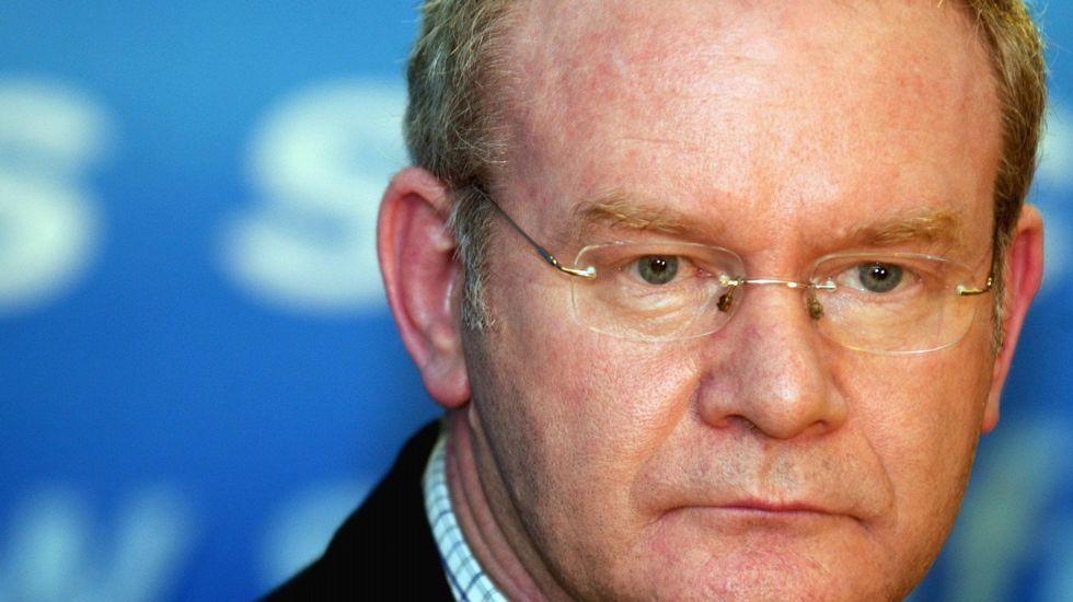 Martin McGuinness, en una imagen de archivo