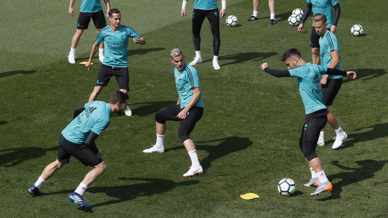 La final de Champions en imágenes.Zidane y Klopp, los técnicos que dirimirán la gran final de Kiev