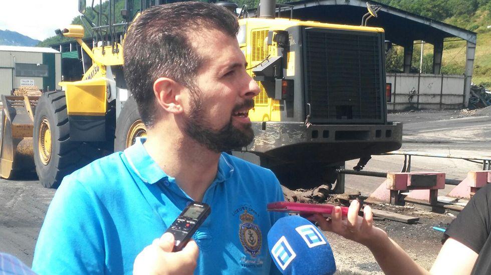 El secretario general del PSOE de Castilla y León, Luis Tudanca