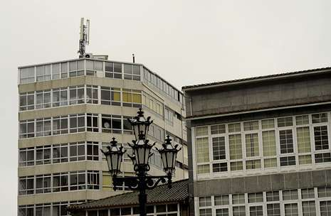 A Estrada concentra el mayor número de estaciones de telefonía móvil en la zona, con seis.