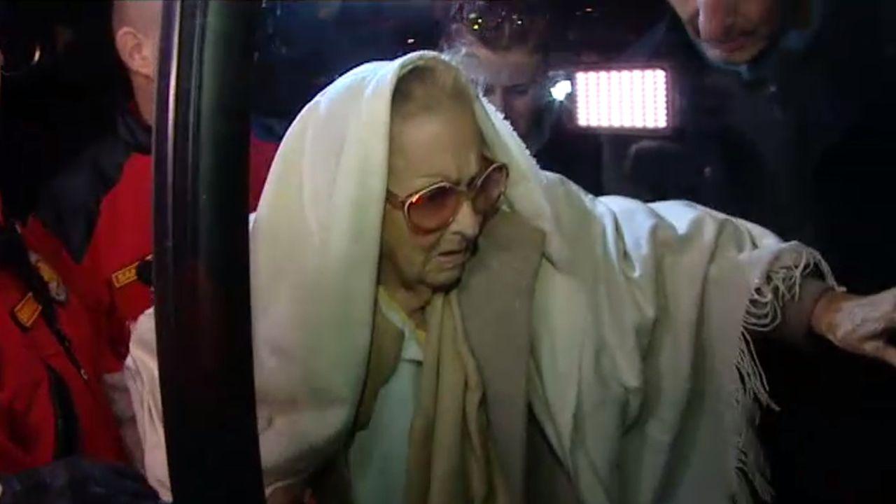 La mujer de 99 años desahuciada en Pozuelo atendida por una hipotermia.Imagen de archivo de David Duke, en 1978