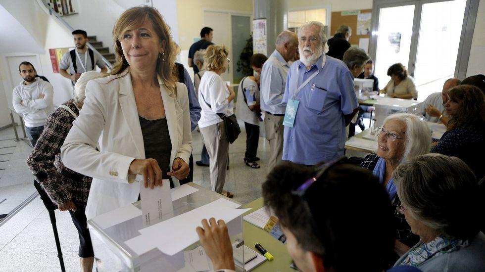 Los cabezas de lista de las elecciones catalanas