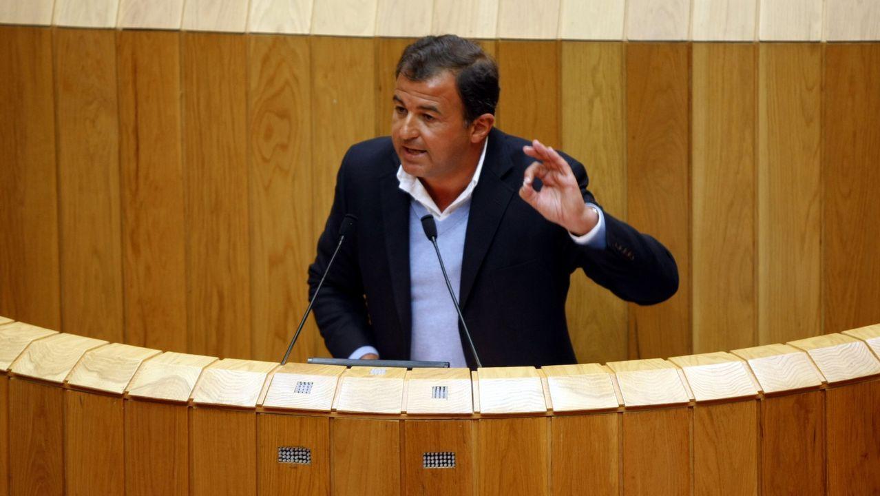 Así es el nuevo Gobierno de Feijoo.Olga Louzao, durante un pleno en el concello de Lugo